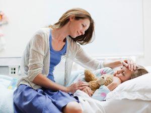 Уход за больным ребёнком: как накормить его правильно