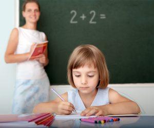 ребенок, девочка, учеба, школа, учитель