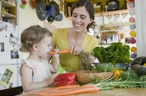 Морковь в рационе ребенка