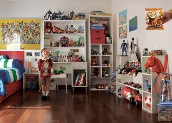 Варианты хранения игрушек в детской комнате