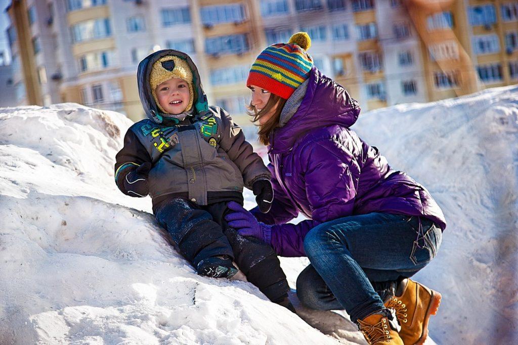 Зимние развлечения на улице для детей разных возрастов