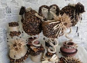 Создаем поделки из кофе