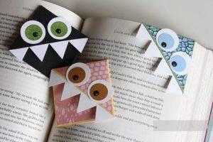 Поделки для детей: закладки для книг своими руками