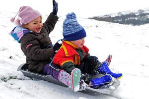 Выбираем зимний транспорт для ребенка