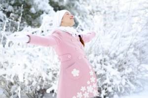 Советы беременным: как пережить зиму