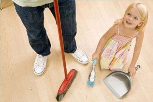 Как превратить уборку в детской в развлечение?