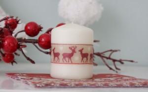 ФОТО: как декорировать свечи к Рождеству