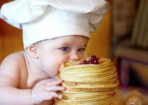 Рецепты блинчиков и оладий для детей