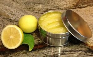 лимонный скраб