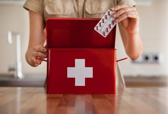 Составляем аптечку для дошкольника