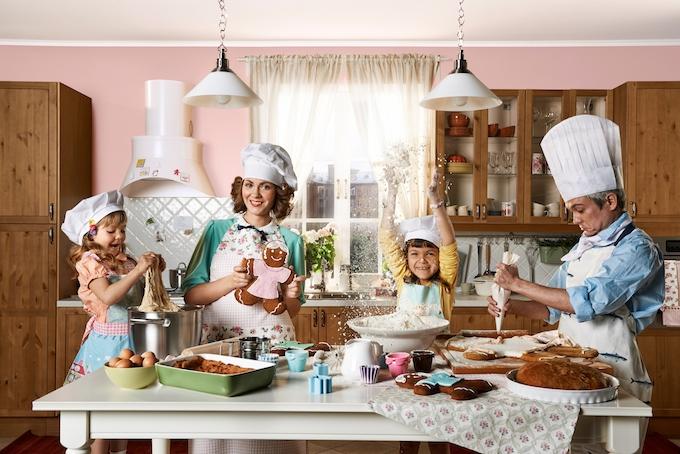 Советы родителям: что и как готовить с детьми