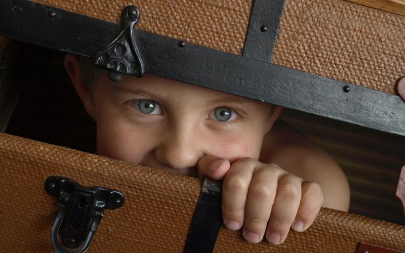 Воспитание ребенка: мальчик-трус