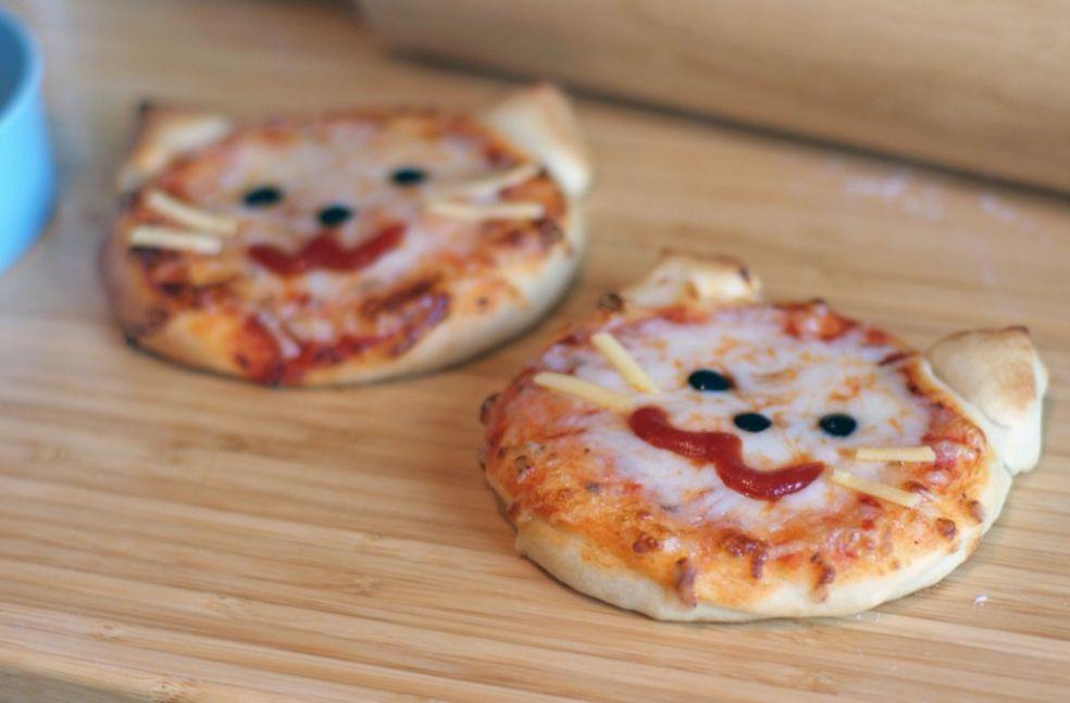 Готовим пиццу для детей