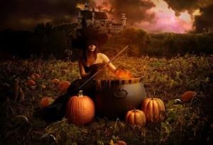 ведьма, хэллоуин хеллоуин