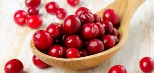 Лучшие осенние продукты, ягоды, клюква