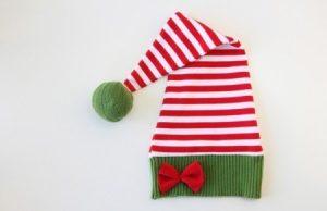 Мастер-класс: шьем новогоднюю шапочку эльфа