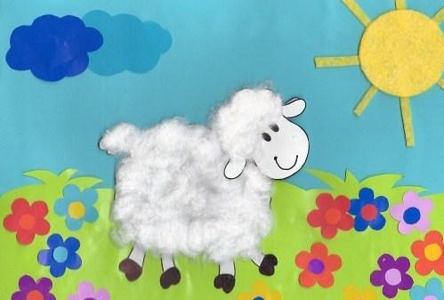 Новогодний мастер-класс: делаем с ребенком овечку из ваты