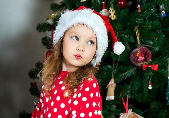 Новогодние развлечения для детей: конкурс «Театральный этюд»