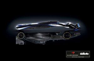 Gillette McLaren Official Partners