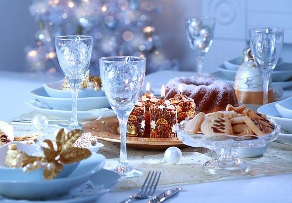 ФОТО: 4 варианта сервировки новогоднего стола
