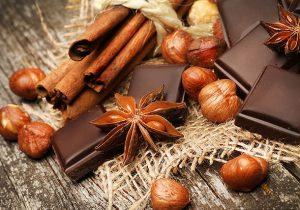 Новогодний детский стол: шоколадный фадж