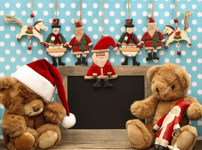 Декорирование детской комнаты на Новый год