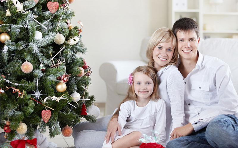 Как весело встретить Новый год дома с детьми?
