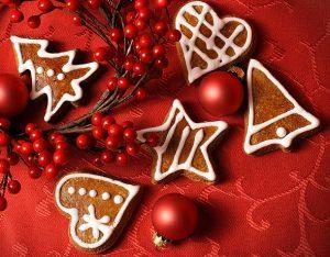 Рождественское печенье с миндалем для детей