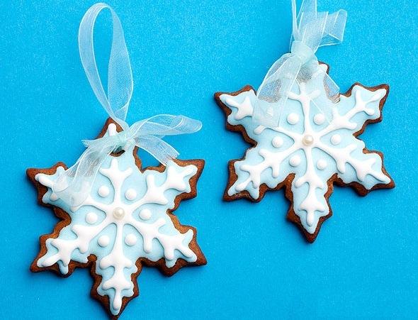 Новогоднее печенье «Елочные игрушки»