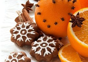 Детское новогоднее печенье с апельсиновым сиропом