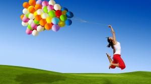 счастье, радость, девушка, женщина