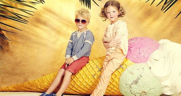 ФОТО: детская мода весна-лето 2015