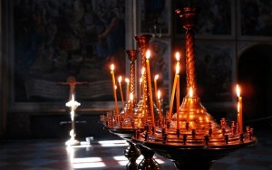 церква, свічки