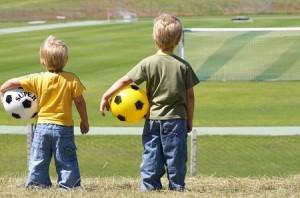 мяч, футбол, дети, лето, діти, спорт