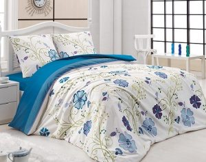 постель, спальня, кровать, интерьер, дом