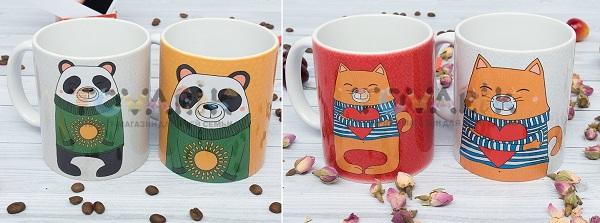 Оригинальные подарочные чашки (Интернет-магазин Tovarik.com.ua)
