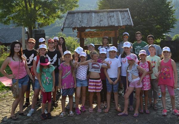 дети, карпаты, лето, отдых, лагерь