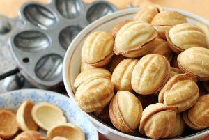 орешки, сладкое, сладости, десерт