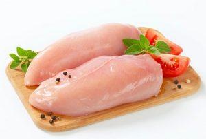 мясо, филе, индейка, курятина, продукты