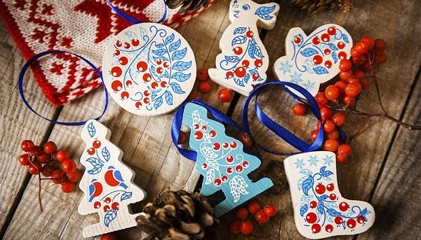 елка, игрушки, новый год, рождество