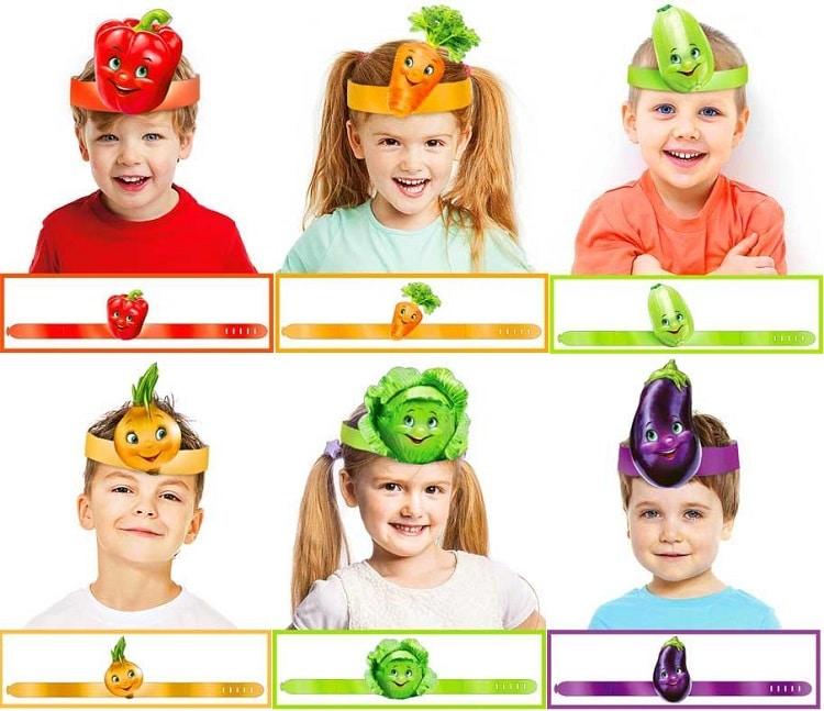маски овочі