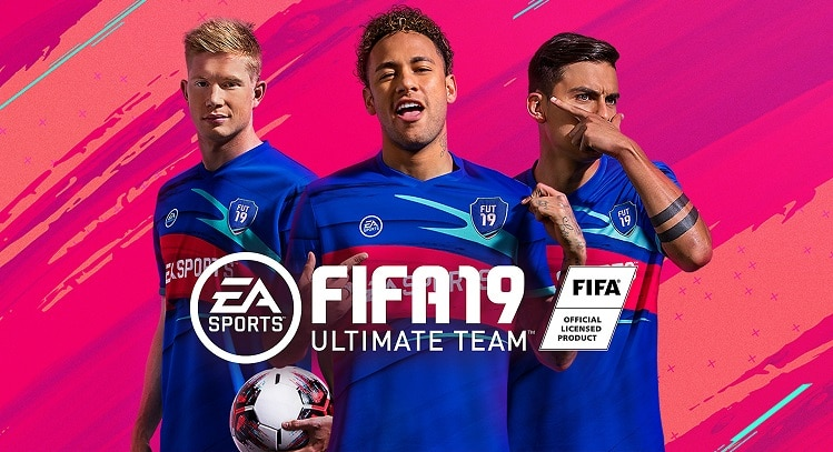 FIFA19 game