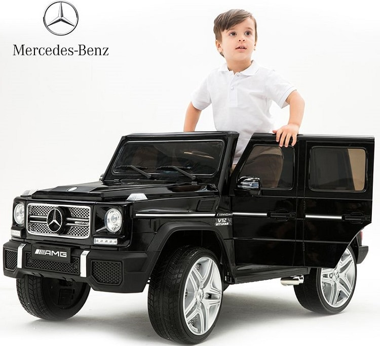 Дитячий електромобіль джип Mercedes G65 VIP