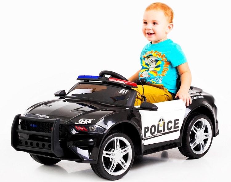 Дитячий легковий електромобіль POLICE FORD MUSTANG