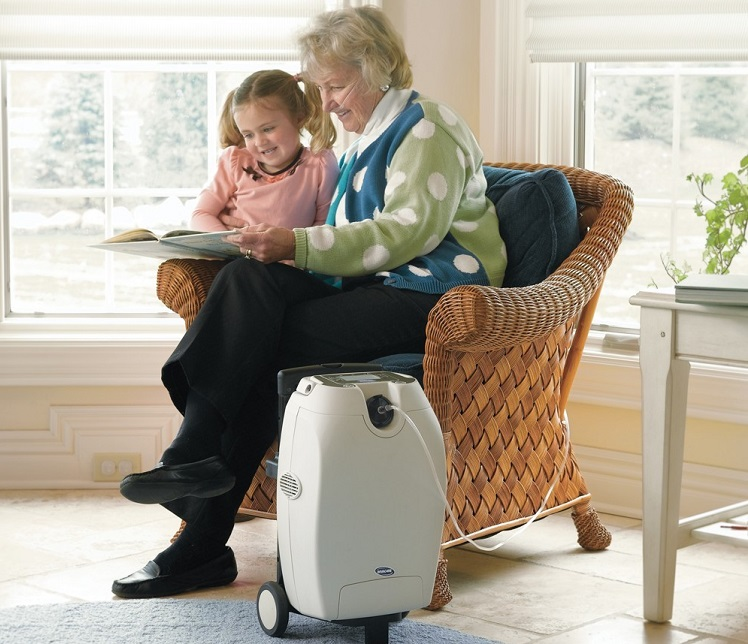 домашний кислородный аппарат